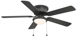 hampton bay hugger 52 inch fan image
