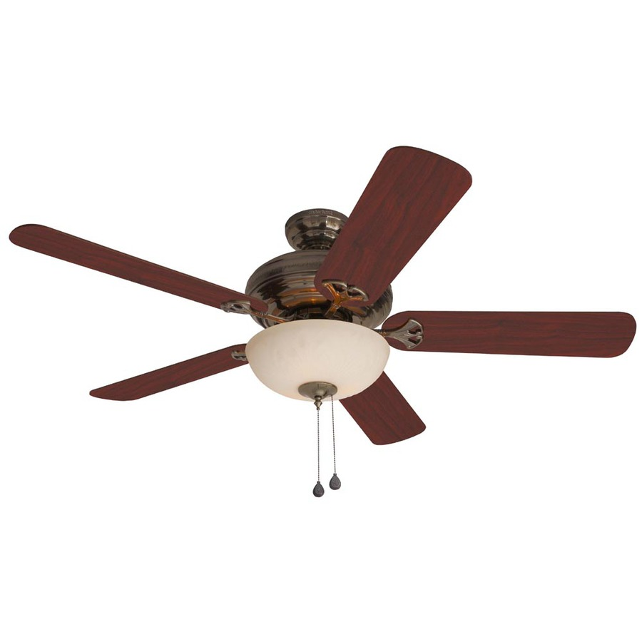Harbor Breeze Sandoval 52 In Caribbean Brass Multi Position Indoor Ceiling Fan With Light Kit