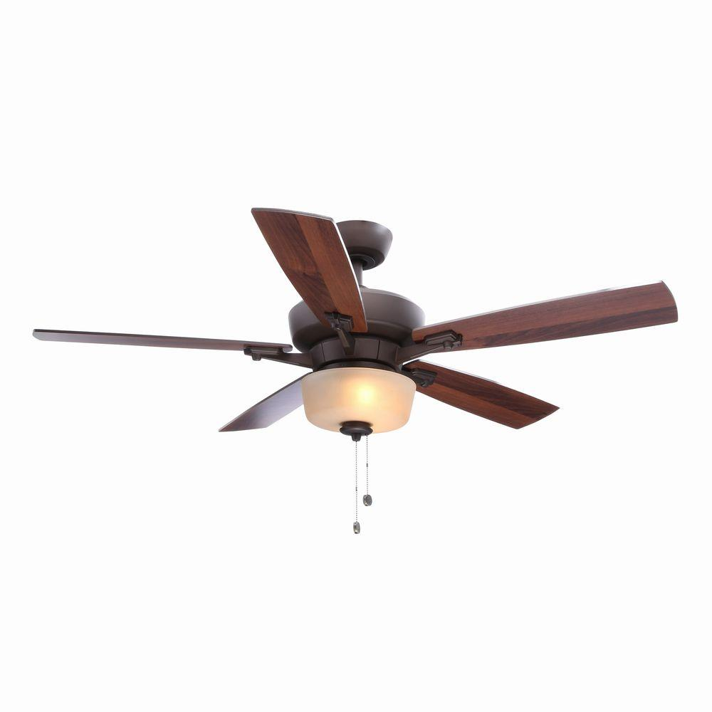 Hampton Bay Hawthorne Ii 52 In Oil Rubbed Bronze Ceiling Fan Manual