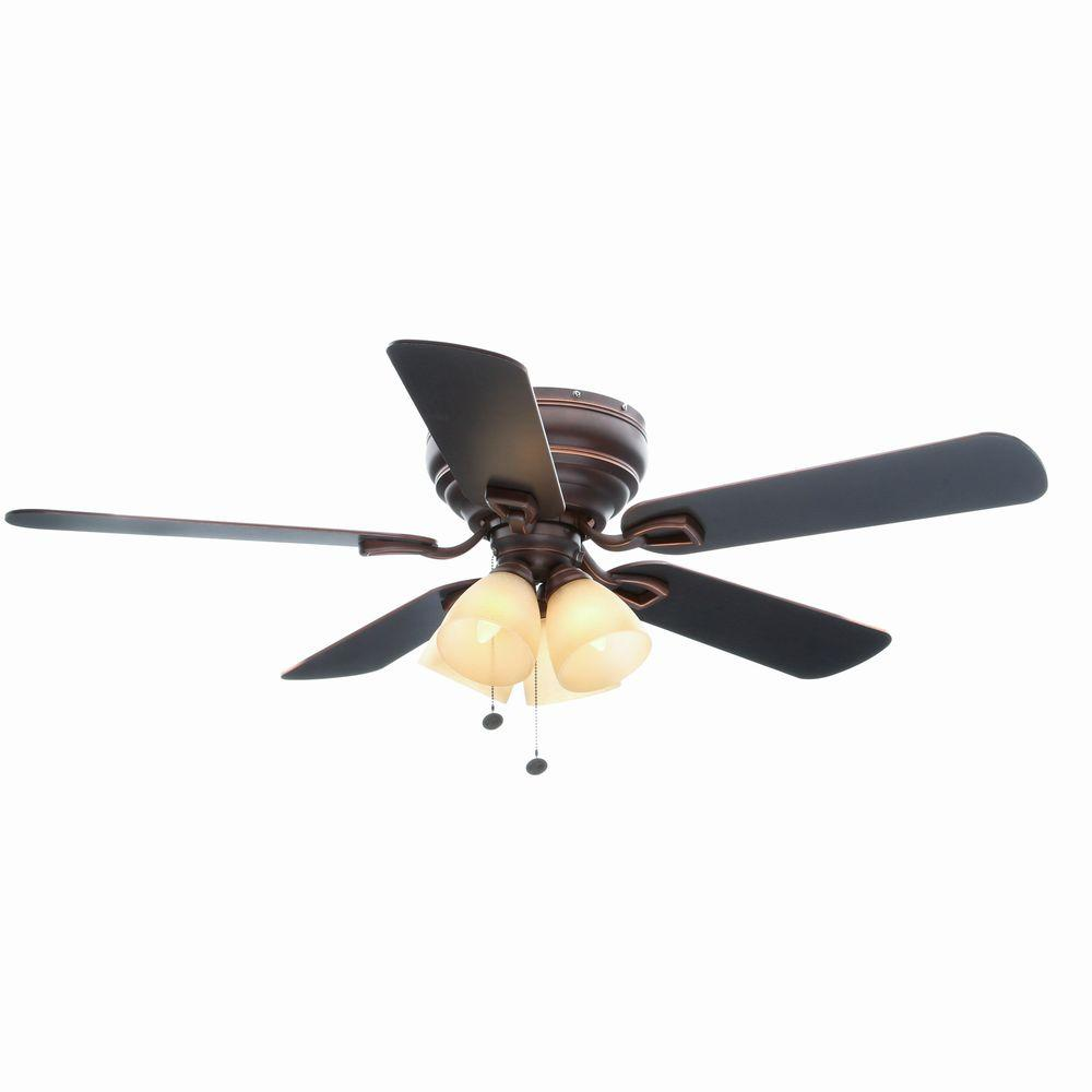 Hampton Bay Hayward 52 in. Mediterranean Bronze Ceiling Fan Manual 19