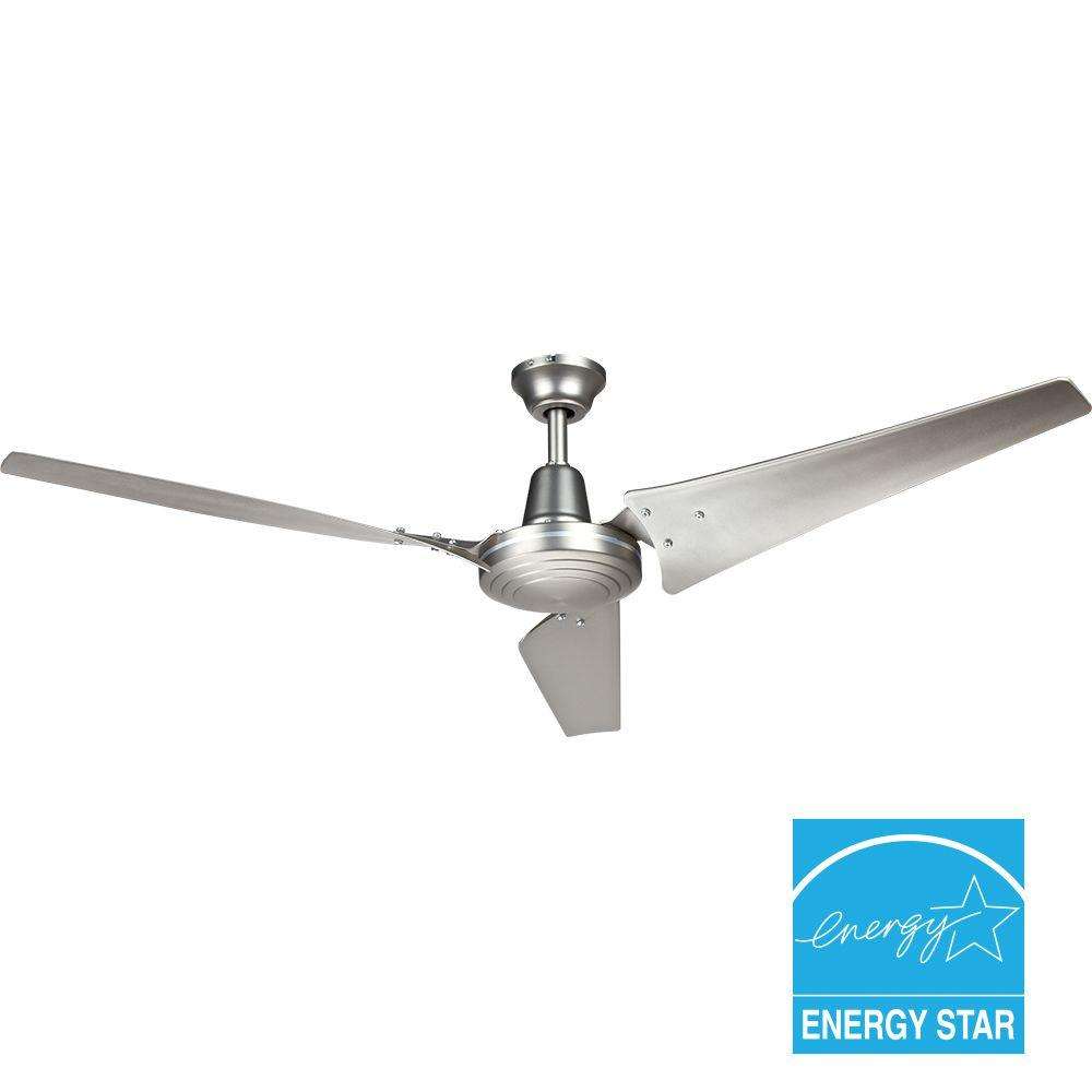 Hampton Bay Industrial 60 in. Brushed Steel Indoor Energy Star Ceiling Fan Manual 14