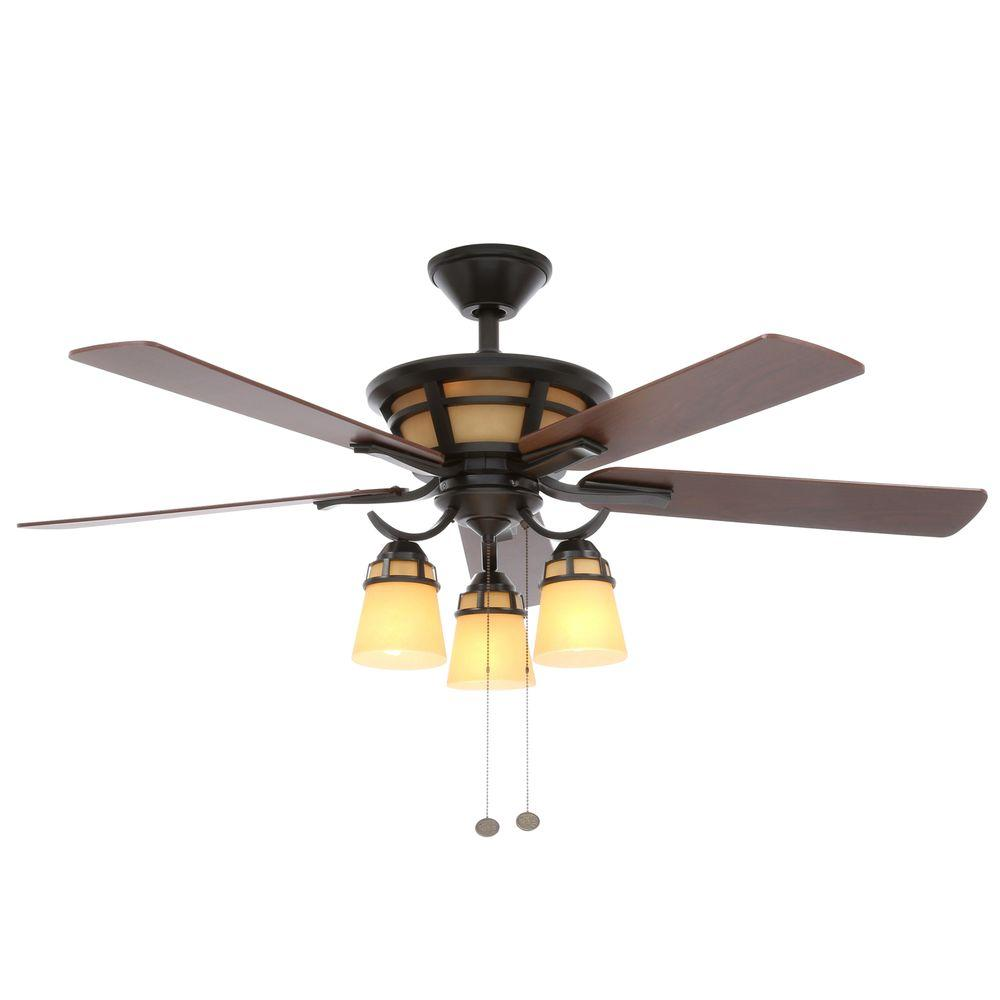 Hampton Bay Alicante Natural Iron Ceiling Fan Manual
