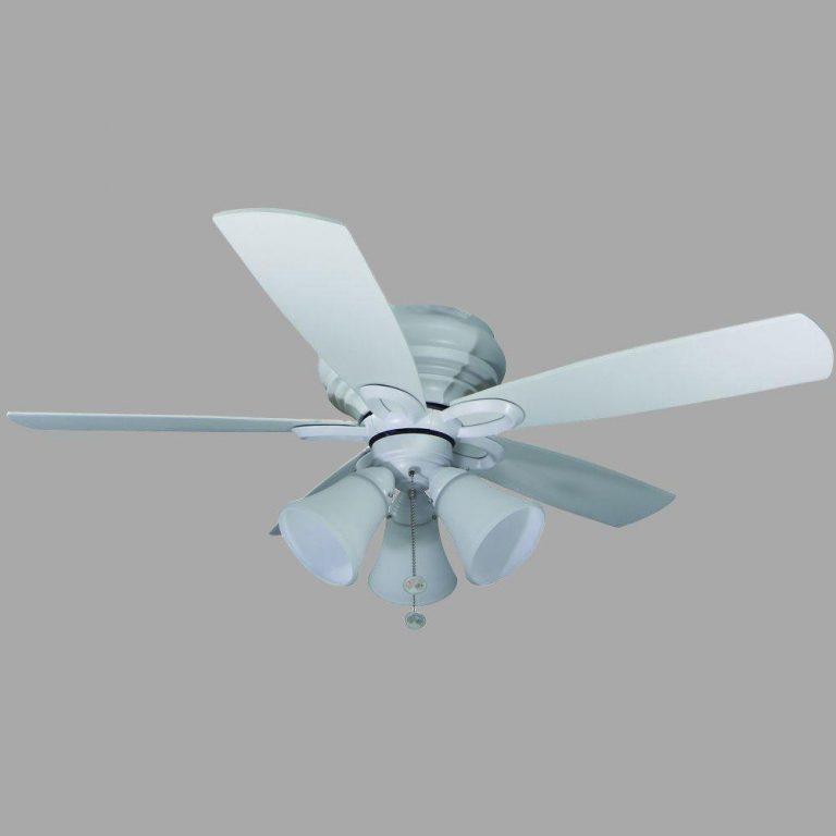 Hampton Bay Maris Indoor White Ceiling Fan Manual 1