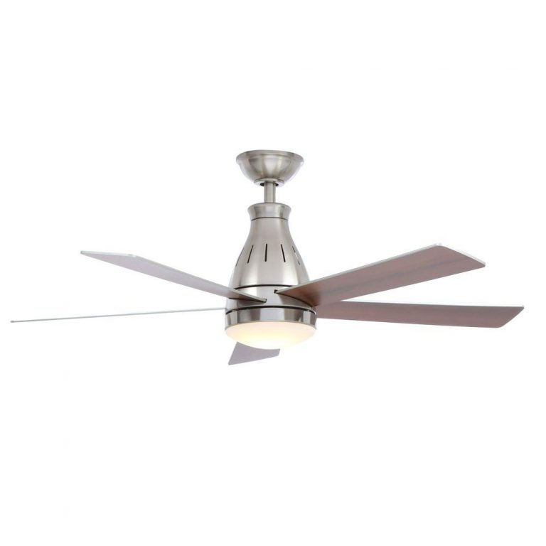 Hampton Bay Cobram Brushed Nickel Ceiling Fan Manual 1