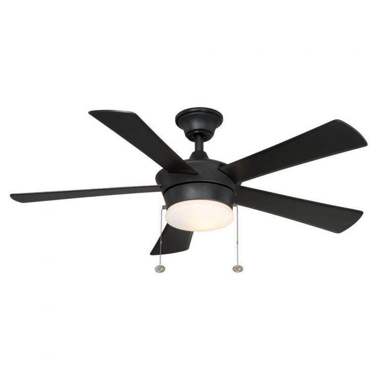 Hampton Bay Corrado Black Ceiling Fan Manual 1