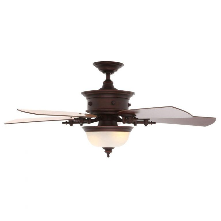 Hampton Bay Dawson Weathered Copper Ceiling Fan Manual 1