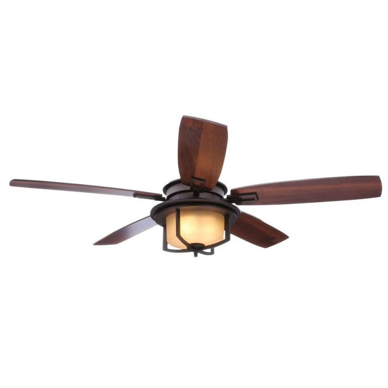Hampton Bay Devereaux II Oil-Rubbed Bronze Ceiling Fan Manual 1