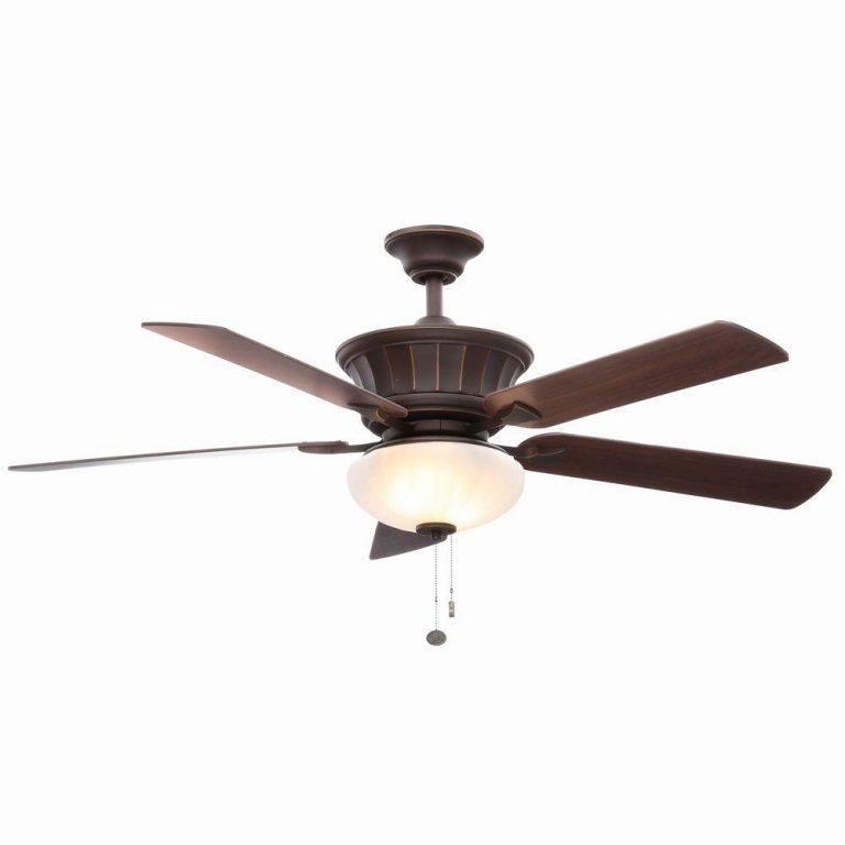 Hampton Bay Edenwilde Oil Rubbed Bronze Ceiling Fan Manual 1
