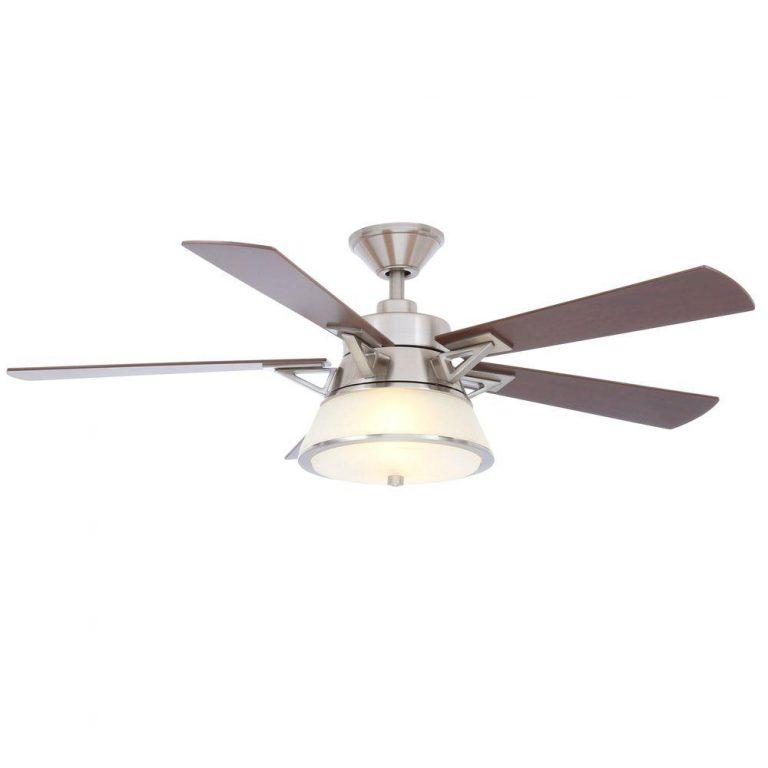 Hampton Bay Marlowe Brushed Nickel Ceiling Fan Manual 1