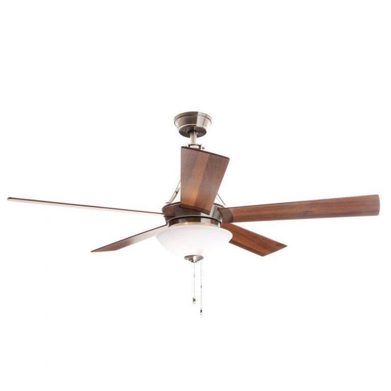 Hampton Bay Everbilt Brushed Nickel Ceiling Fan Manual 1