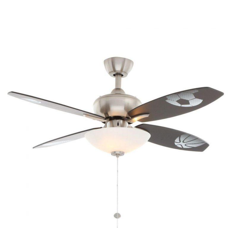 Hampton Bay Everstar Brushed Nickel Ceiling Fan Manual 1