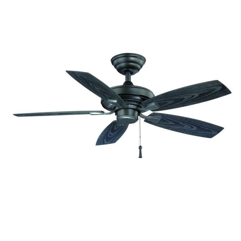 Hampton Bay Gazebo II Indoor/Outdoor Natural Iron Ceiling Fan Manual 2