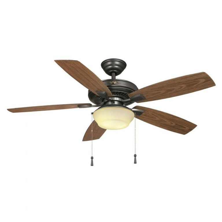 Hampton Bay Gazebo II 52 in Indoor/Outdoor Natural Iron Ceiling Fan Manual 1