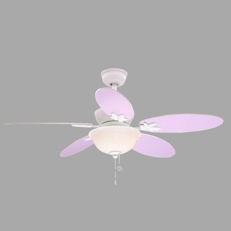 Hampton Bay Harper III White Ceiling Fan Manual 1