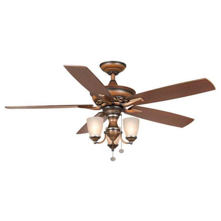 Hampton Bay Havenville Berre Walnut Ceiling Fan Manual 1