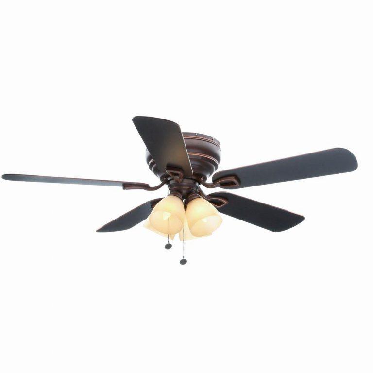Hampton Bay Hayward 52 in. Mediterranean Bronze Ceiling Fan Manual 1