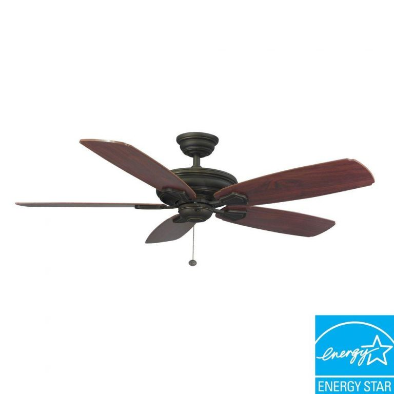 Hampton Bay Heirloom 52 in. Outdoor Oil-Rubbed Bronze Ceiling Fan Manual 1