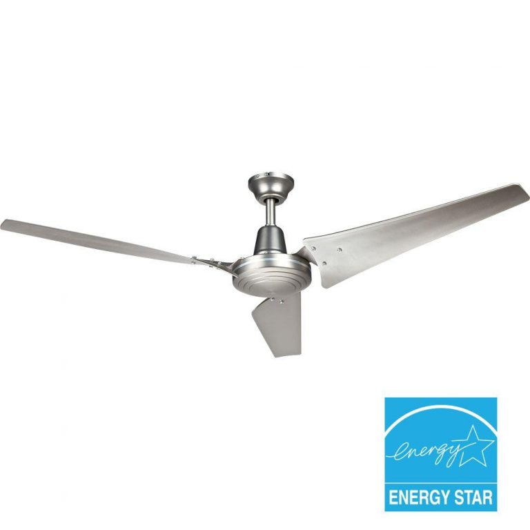 Hampton Bay Industrial 60 in. Brushed Steel Indoor Energy Star Ceiling Fan Manual 1