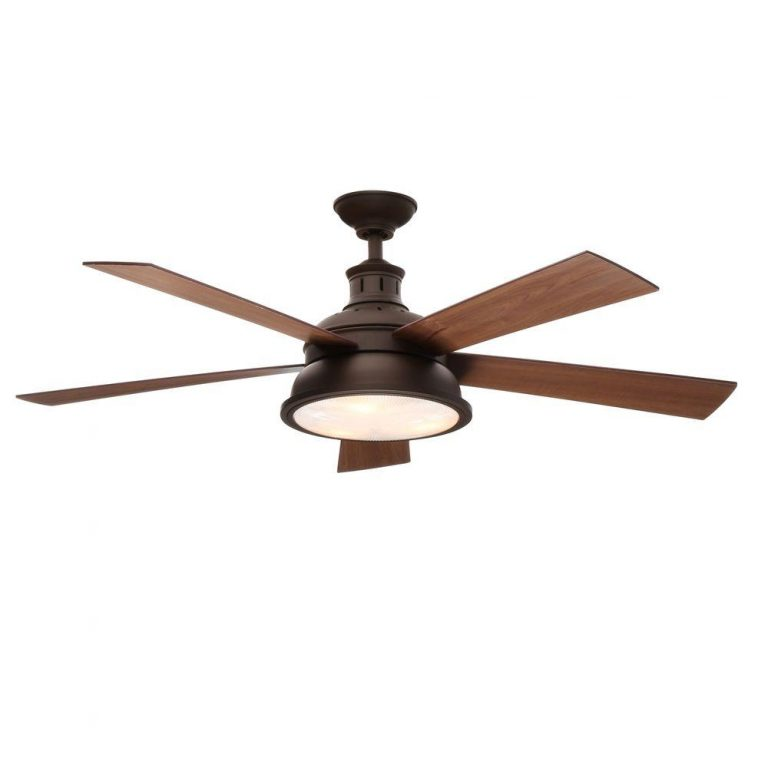 Hampton Bay Marlton Oil-Rubbed Bronze Ceiling Fan Manual 1