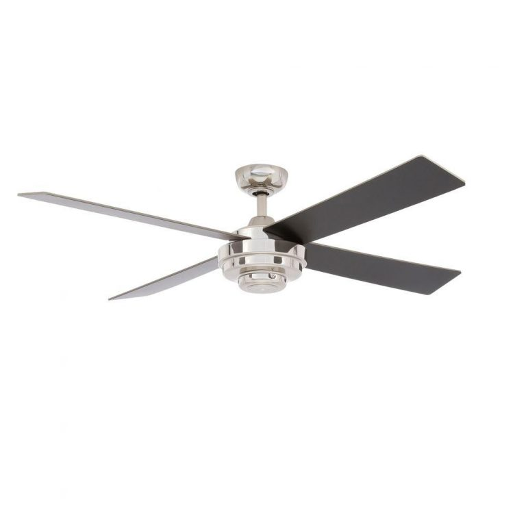 Hampton Bay Kemper II 52 in. Liquid Nickel Ceiling Fan Manual 1