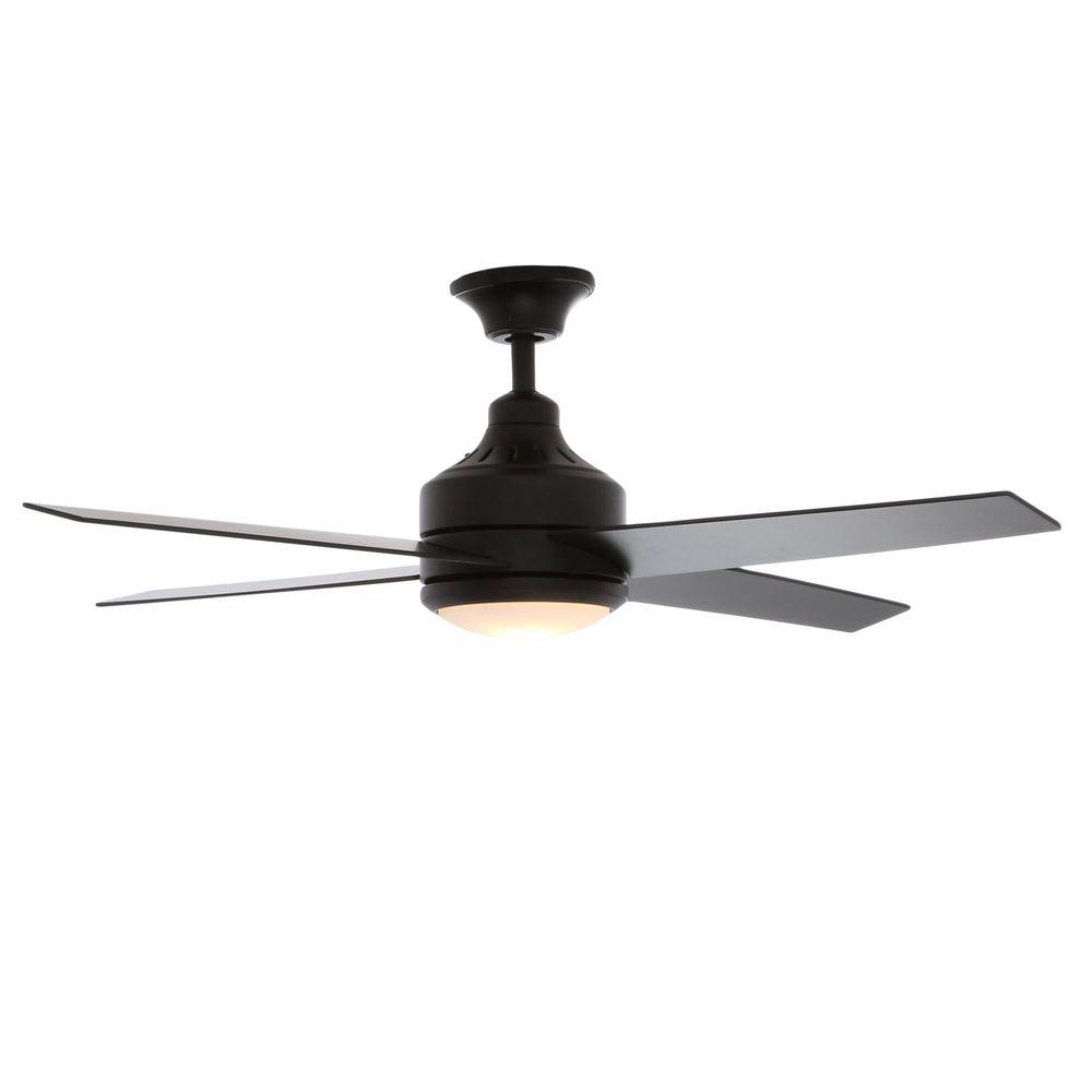 Hampton Bay Mercer Matte Black Ceiling Fan Manual