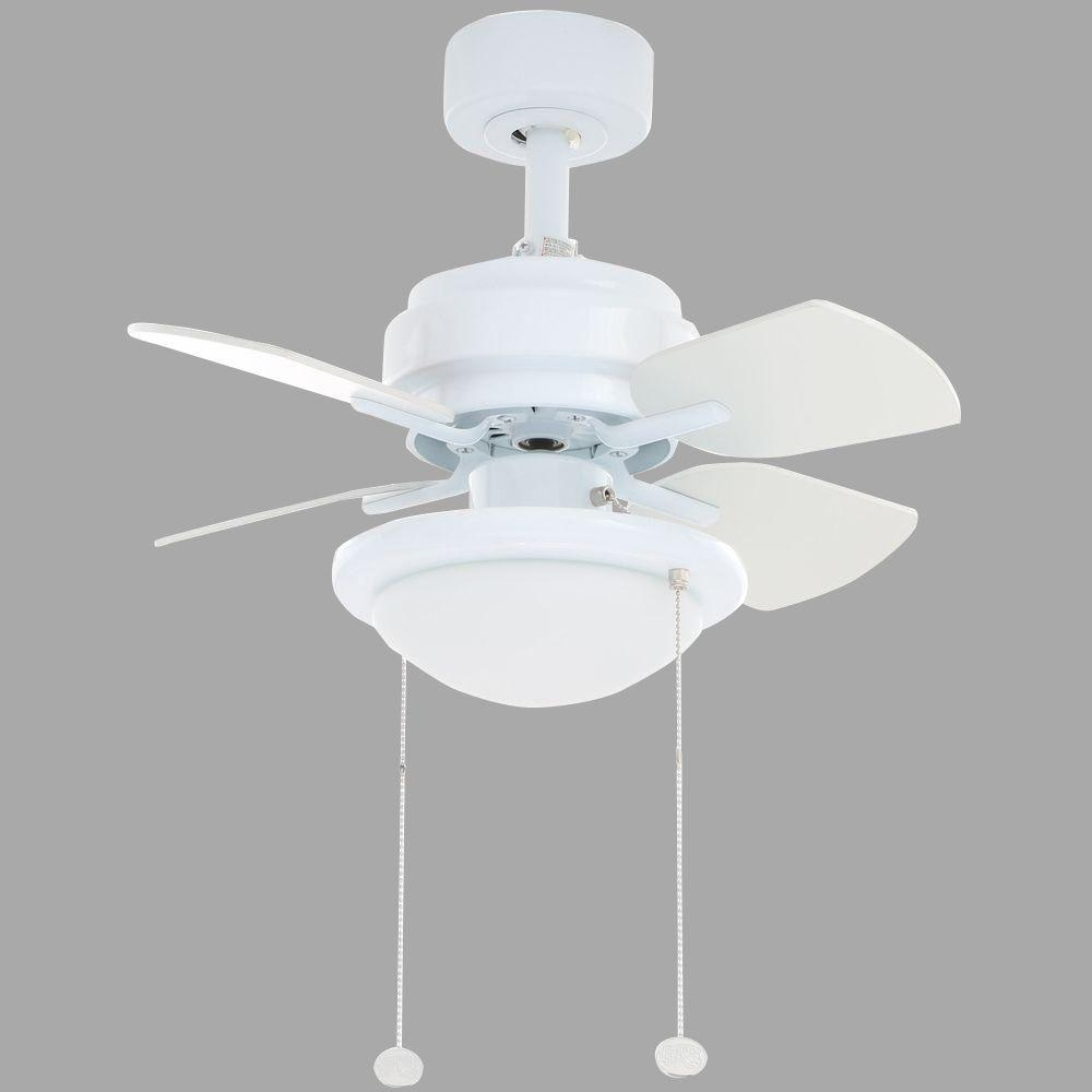Hampton Bay Metarie White Ceiling Fan Manual Ceiling Fans Hq
