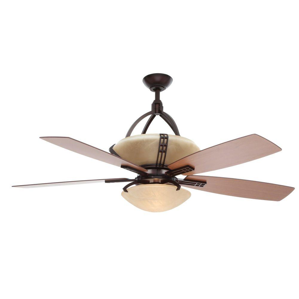 Hampton Bay Fans : Hampton bay miramar weathered bronze ceiling fan manual