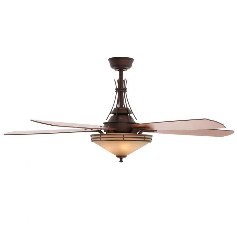 Hampton Bay Miramar Ii Oil Brushed Bronze Ceiling Fan Manual Ceiling Fans Hq