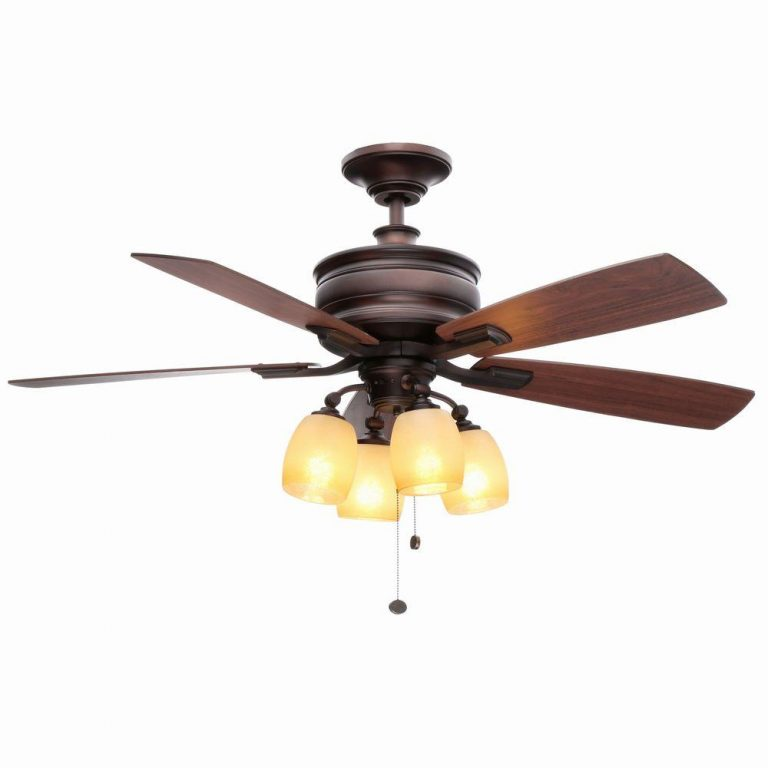 Hampton Bay Oakley Oil-Brushed Bronze Ceiling Fan Manual 1