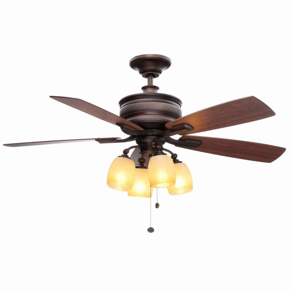 Hampton Bay Oakley Oil Brushed Bronze Ceiling Fan Manual