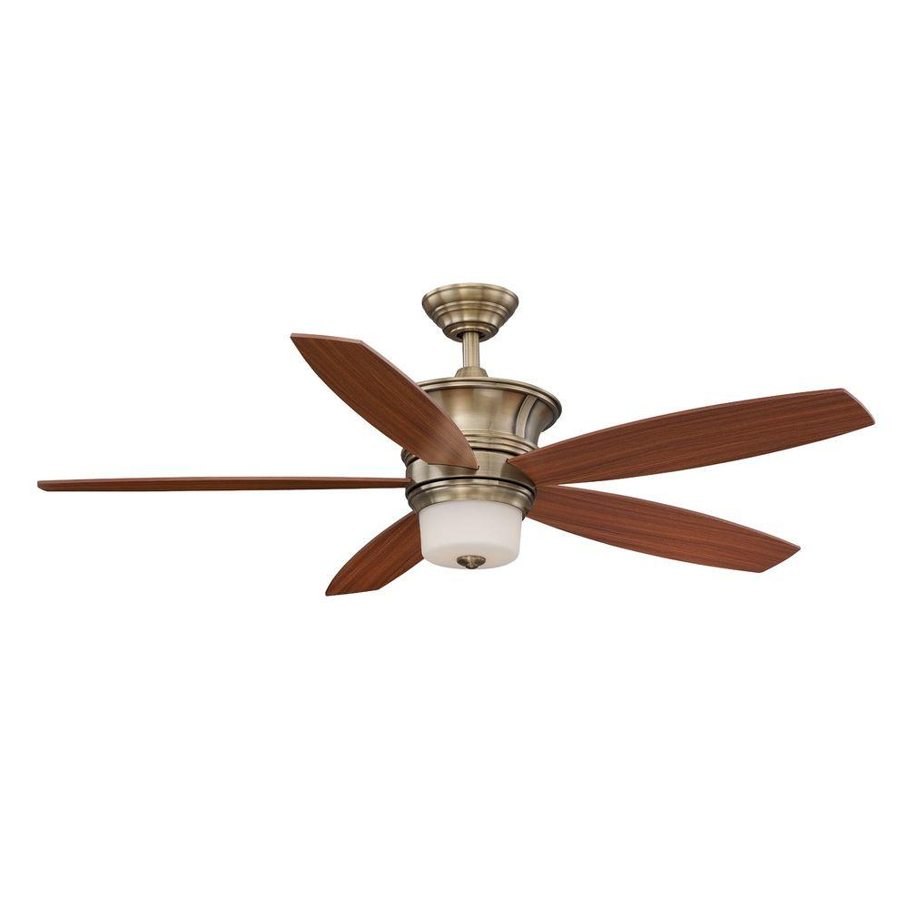 Hampton Bay Parkville II Ancient Brass Ceiling Fan Manual 3