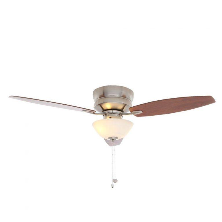 Hampton Bay Rapallo Brushed Nickel Ceiling Fan Manual 1