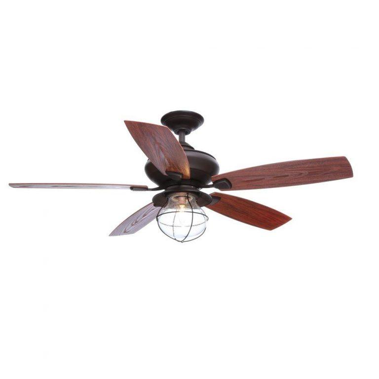 Hampton Bay Sailwind II Indoor/Outdoor Oil-Rubbed Bronze Ceiling Fan with Wall Control Manual 1
