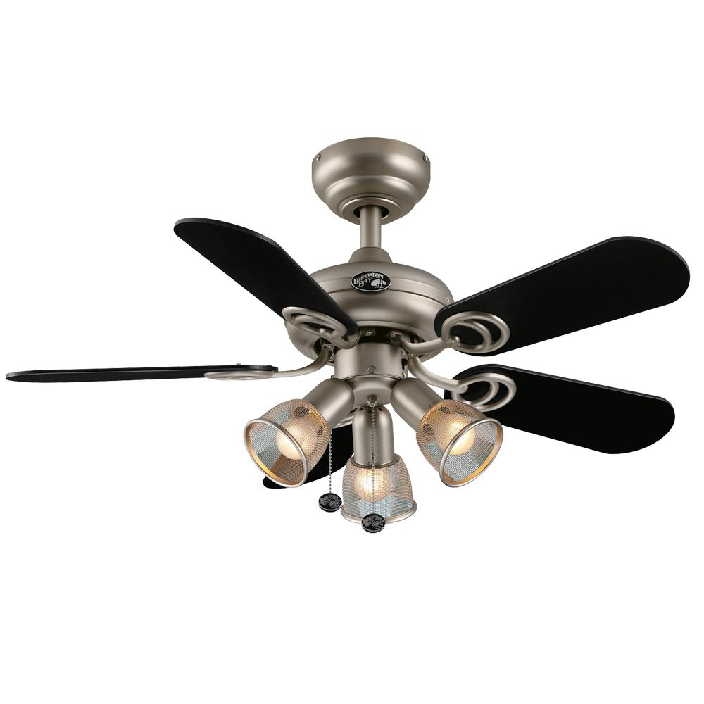 Hampton Bay San Marino Brushed Steel Ceiling Fan Manual