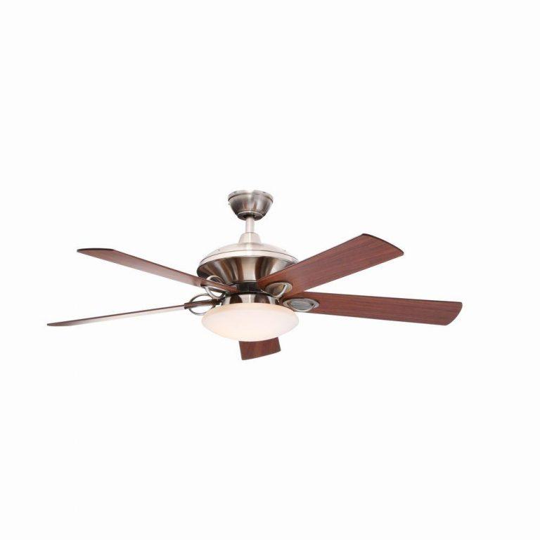 Hampton Bay Sauterne II Brushed Nickel Ceiling Fan Manual 1