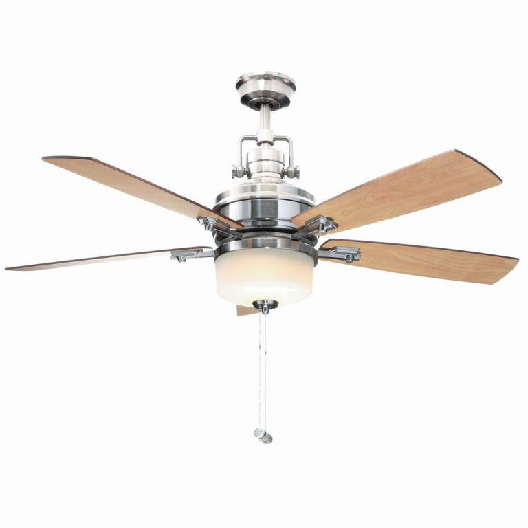 Hampton Bay Sedalia II Brushed Nickel Ceiling Fan Manual 1