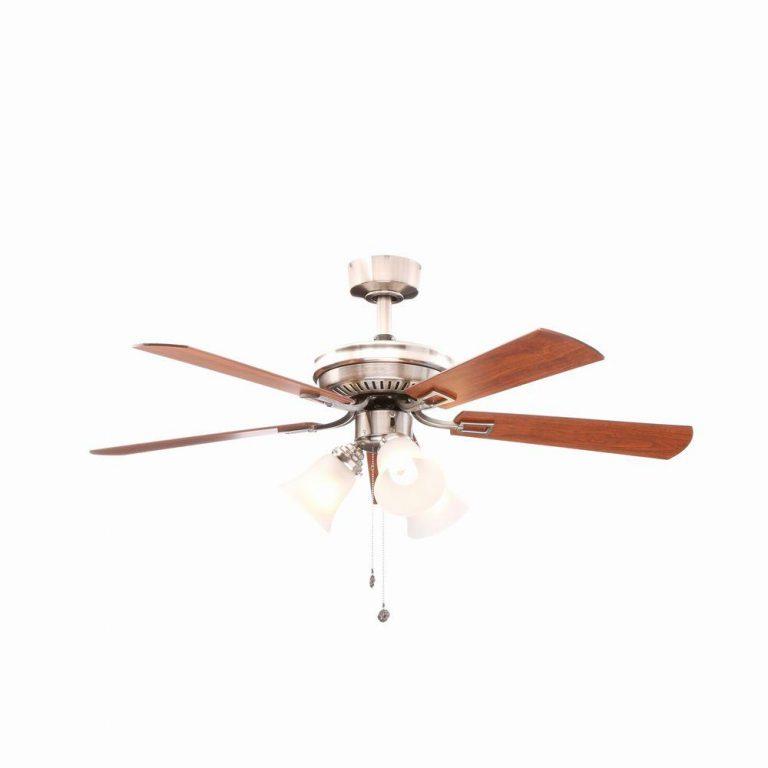 Hampton Bay Sinclair Brushed Nickel Ceiling Fan Manual 1