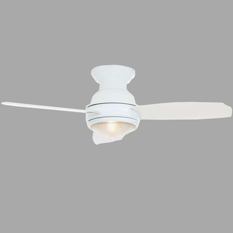Hampton Bay Sovana White Ceiling Fan Manual 1