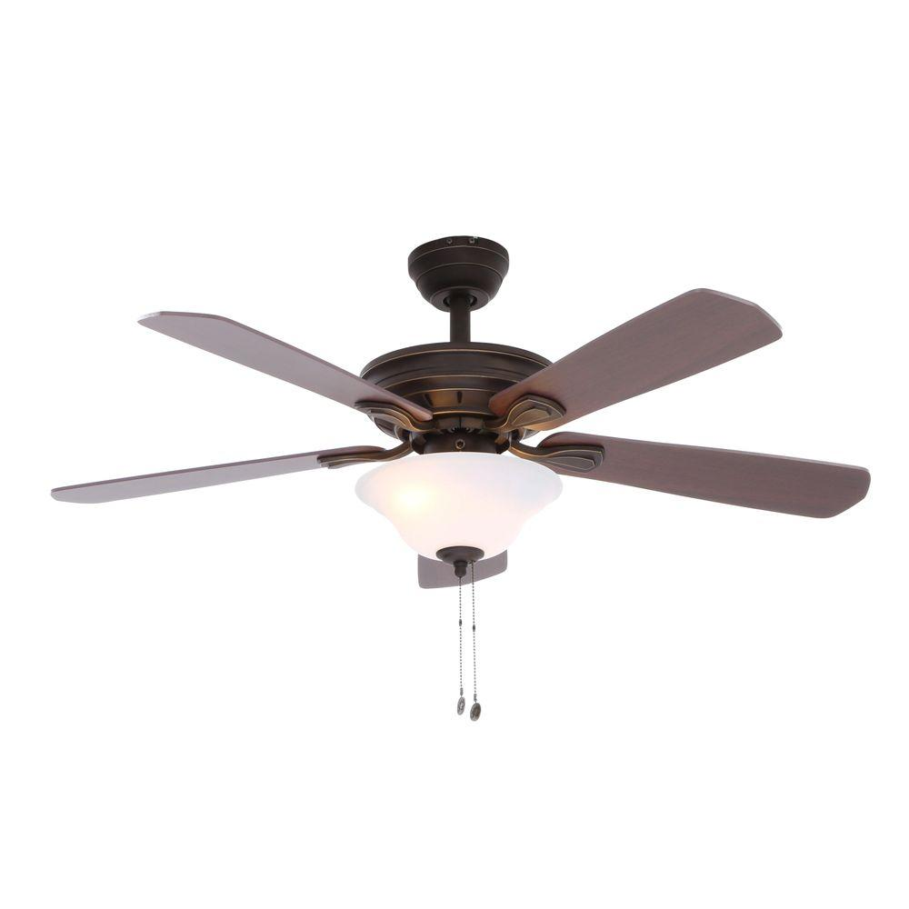 Hampton Bay Wellston Oil Rubbed Bronze Ceiling Fan Manual