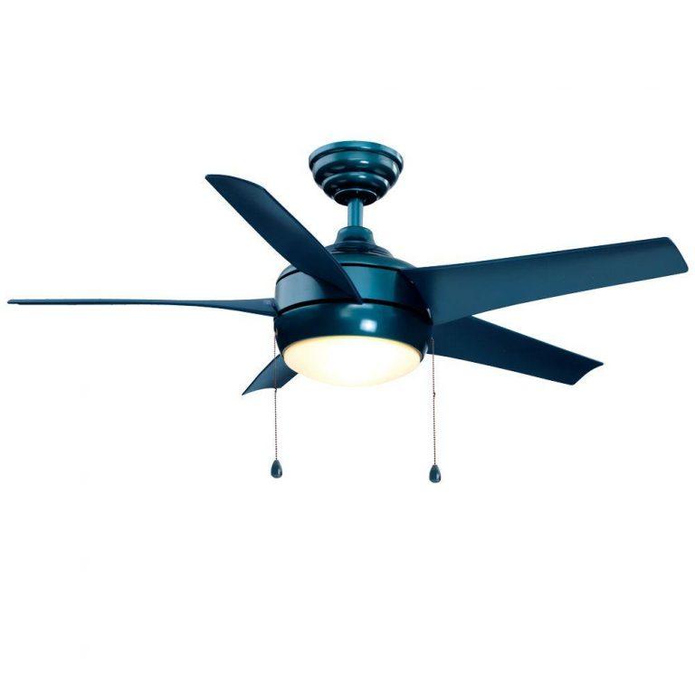 Hampton Bay Windward Blue Ceiling Fan Manual 1