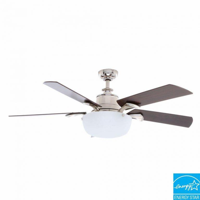 Hampton Bay Winfield Liquid Nickel Ceiling Fan Manual 1