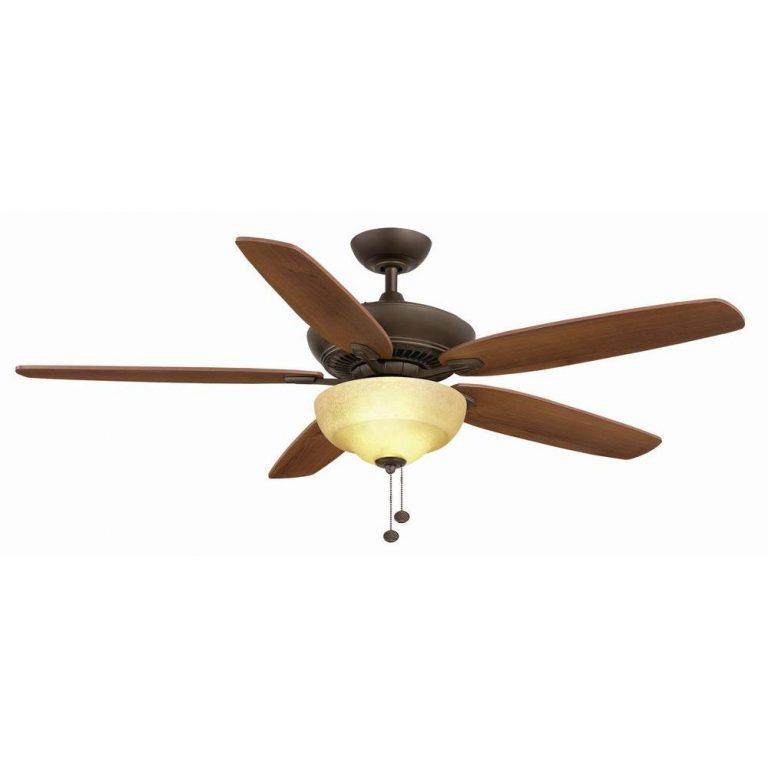 Hampton Bay Langston Oil-Rubbed Bronze Ceiling Fan Manual 1