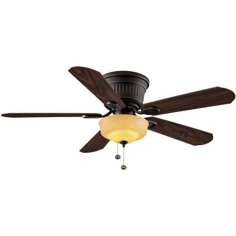 Hampton Bay Lynwood Oil Rubbed Bronze Indoor Ceiling Fan Manual 1