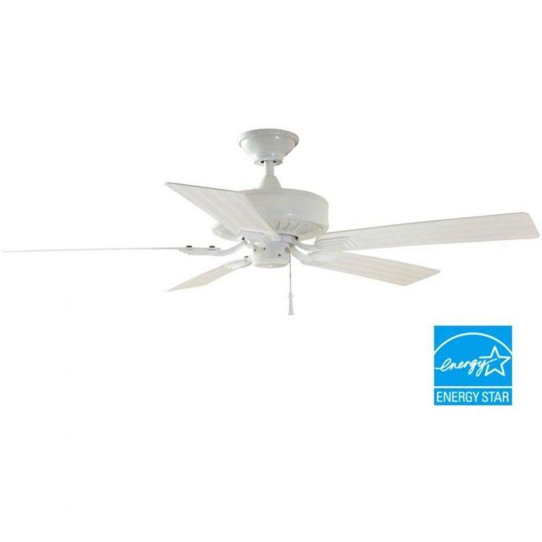 Hampton Bay Barrow Island Indoor/Outdoor White Ceiling Fan Manual 1