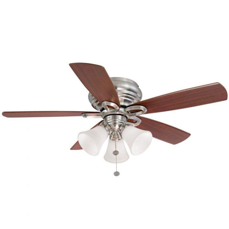 Hampton Bay Maris Indoor Brushed Nickel Ceiling Fan Manual 1