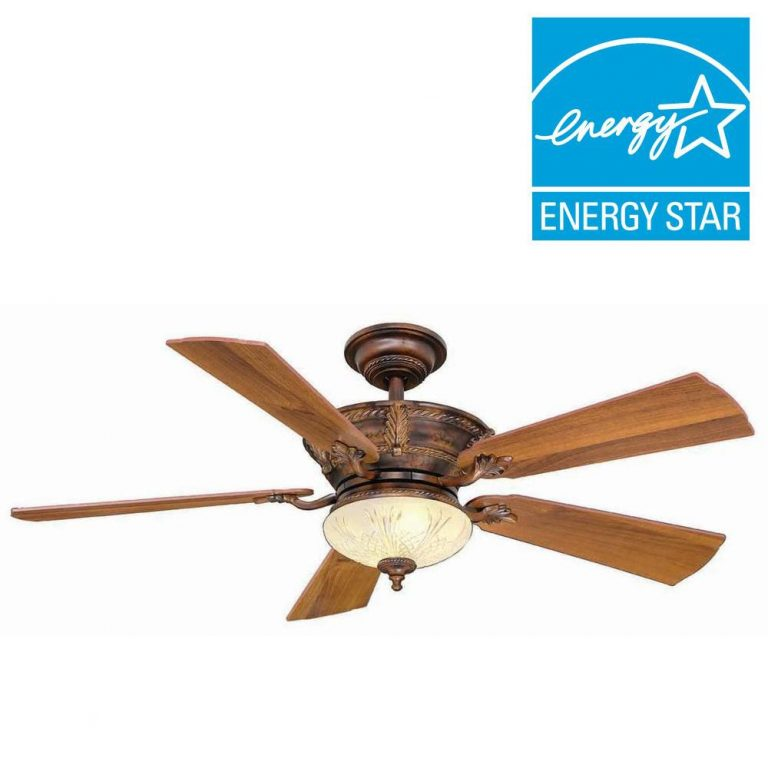 Hampton Bay Bercello Estates Volterra Bronze Ceiling Fan Manual 1