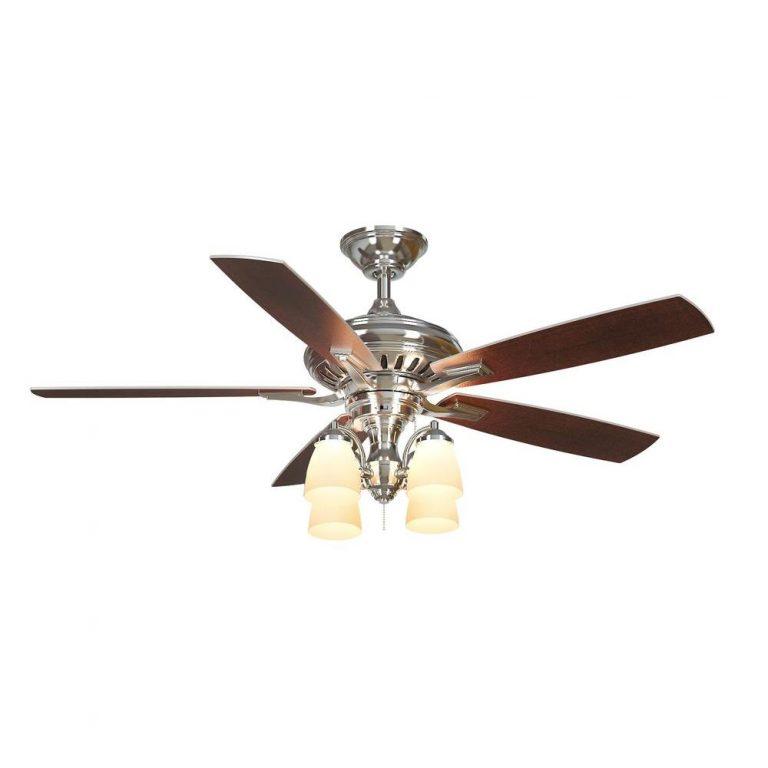 Hampton Bay Bristol Lane Polished Nickel Ceiling Fan Manual 1