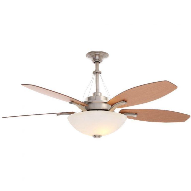 Hampton Bay Brookedale Brushed Nickel Ceiling Fan Manual 1