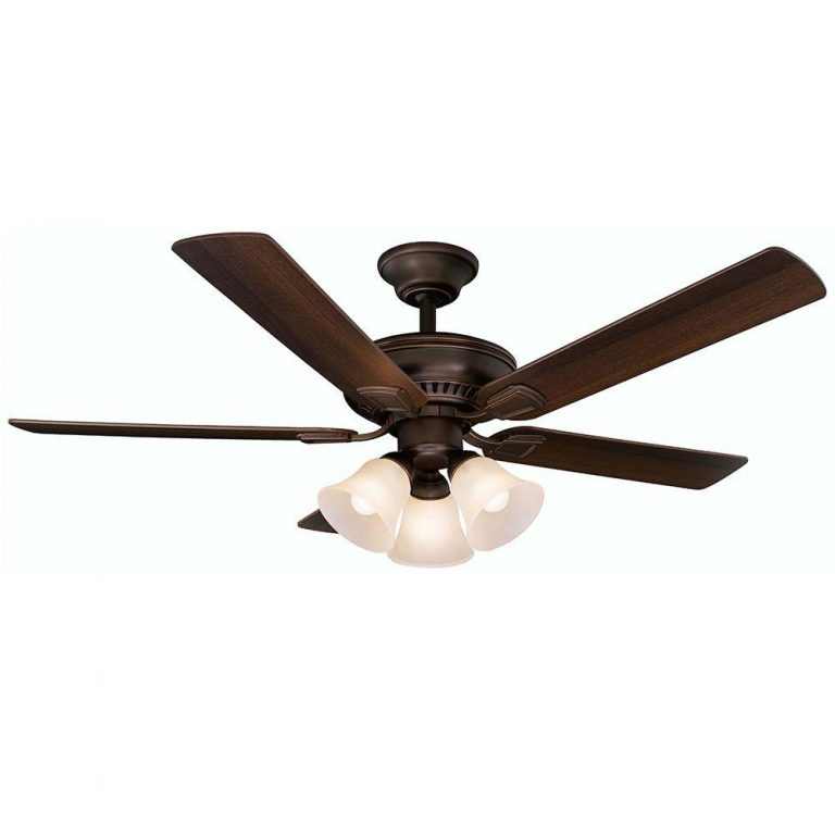 Hampton Bay Campbell Mediterranean Bronze Ceiling Fan with Remote Control Manual 1