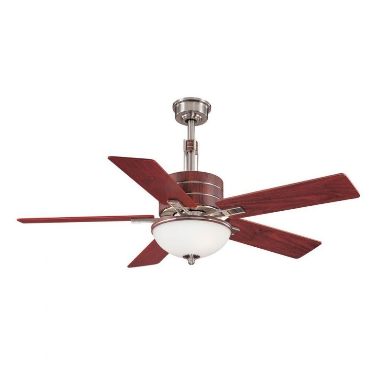 Hampton Bay Carlsbad Brushed Nickel Ceiling Fan Manual 1